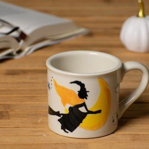 Starbucks Barista Hand Painted Halloween Witch Mug